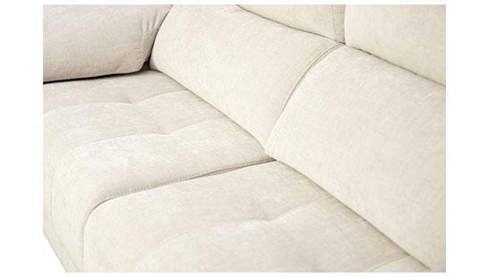 Detalle del sofá Alma